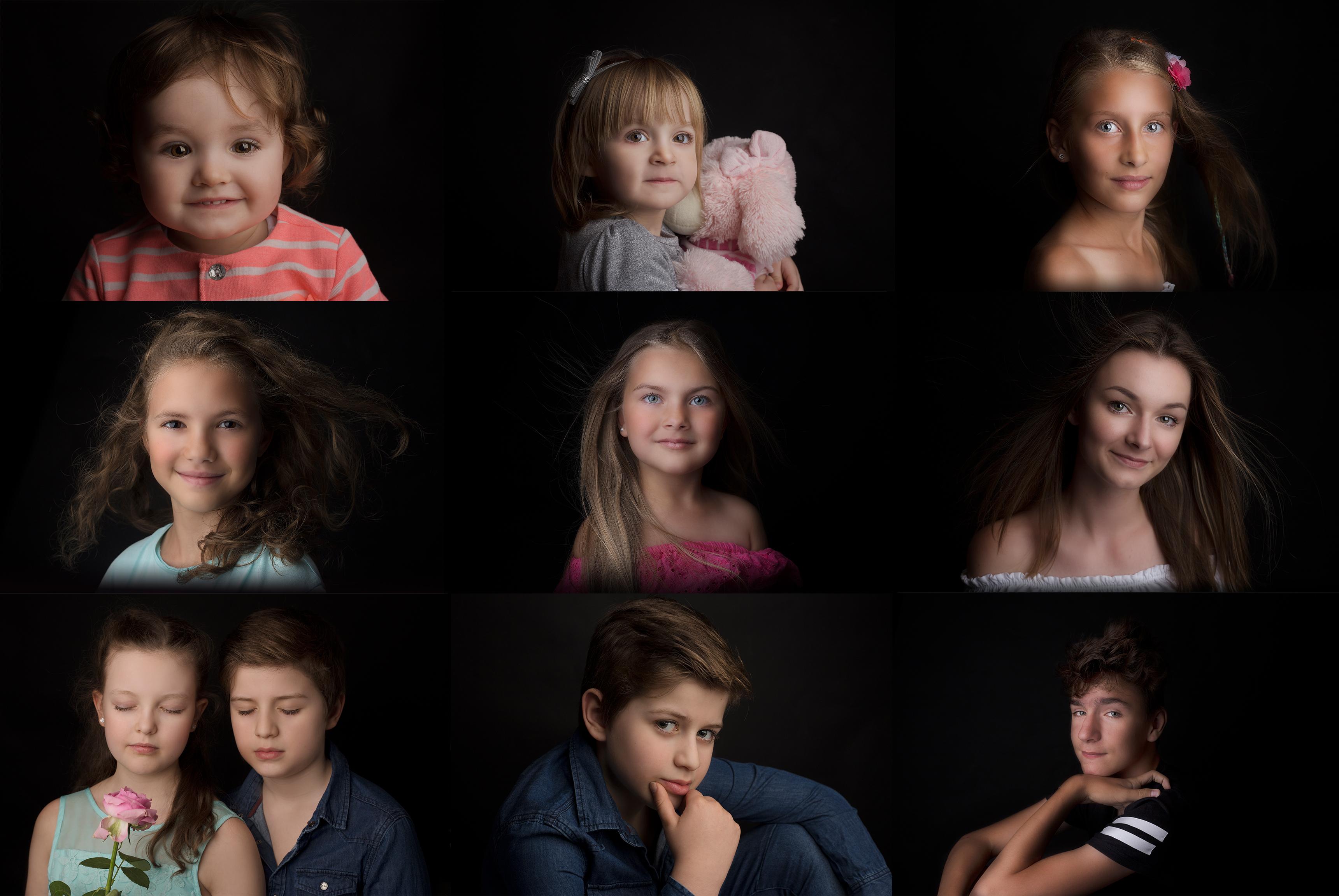sesje portret dziecka
