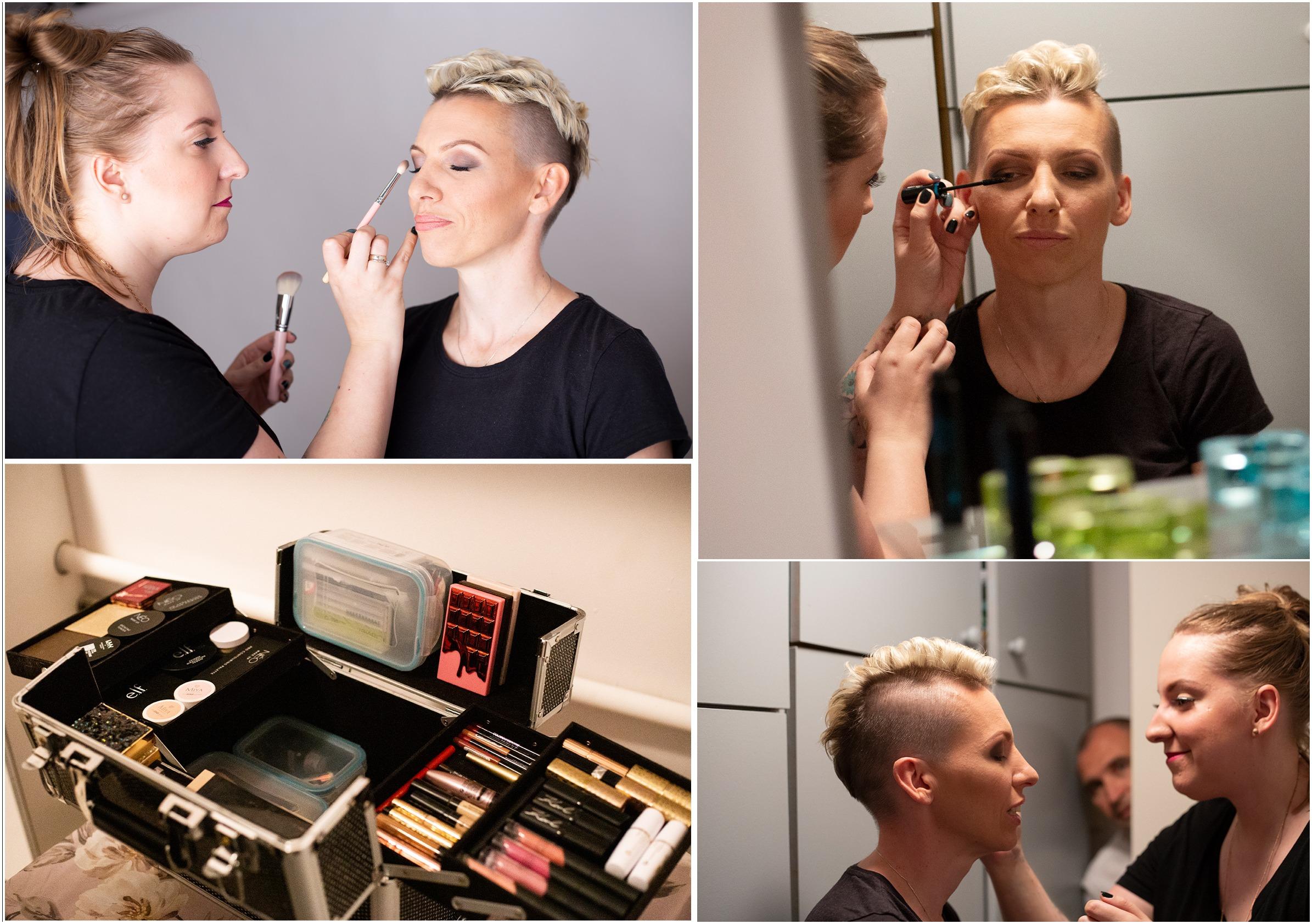 sesje z profesjonalnym makijażem
